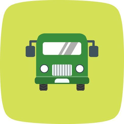 Vektor-Flughafen-Bus-Symbol