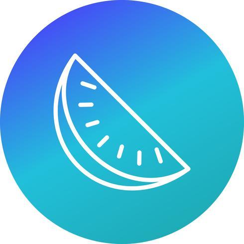 Ícone de melancia de vetor