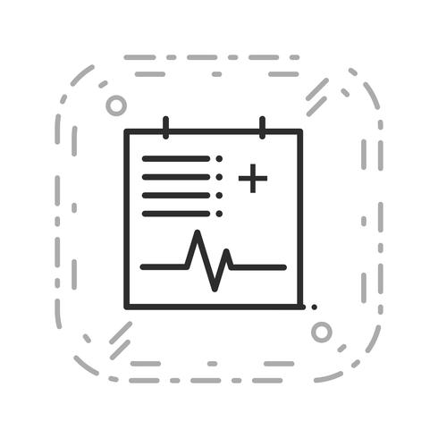 Vector Medical Chart Icon