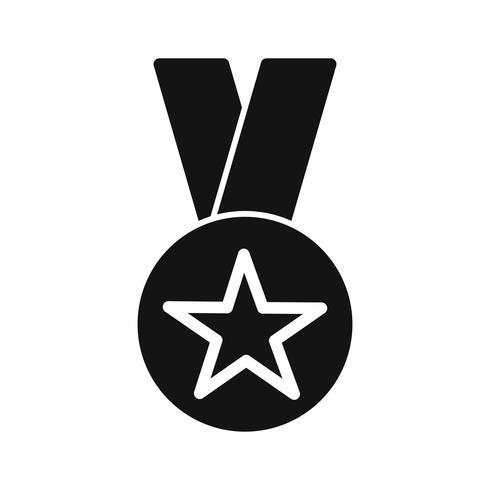 Vector icono de premio