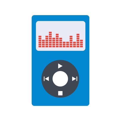 Music Player Icon Ilustração Vetor