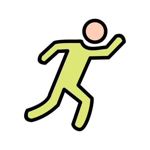 Runner Icon Vector Illustration