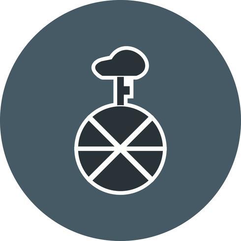 Vector icono de monociclo