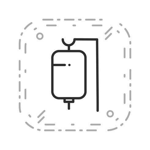 Vector icono de goteo