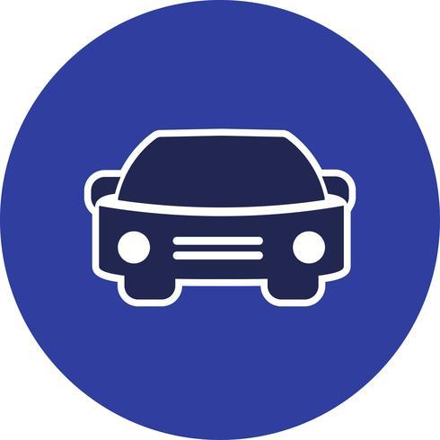 Vektor-Auto-Symbol