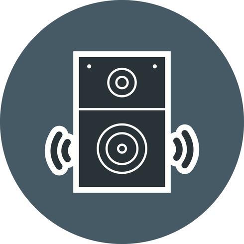 Haut-parleur icône Vector Illustration