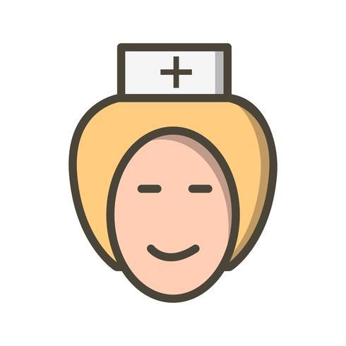 Vector Nurse Icon