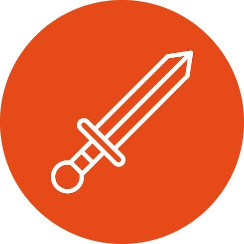 Ilustração em vetor ícone armas