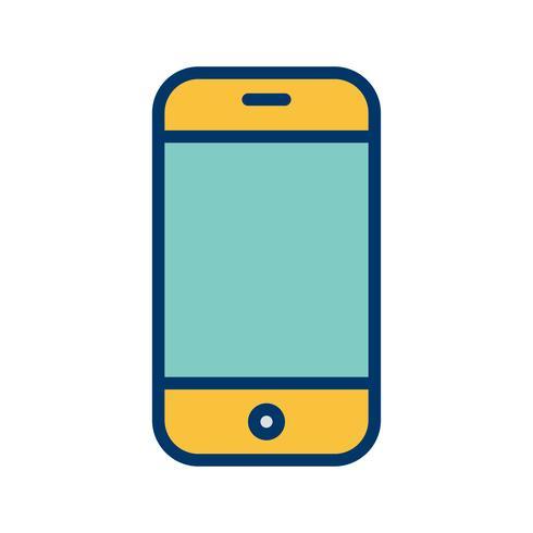 Téléphone cellulaire icône illustration vectorielle vecteur