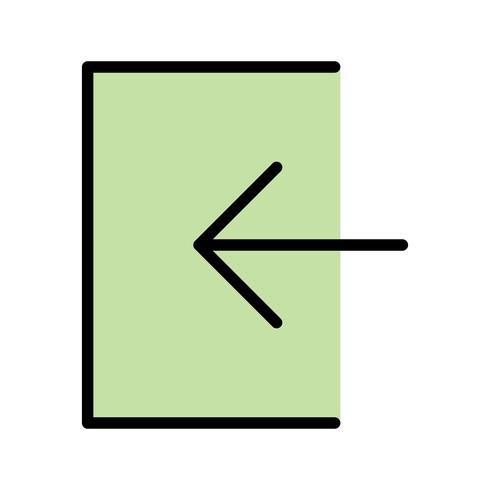 Accedi Icon Vector Illustration