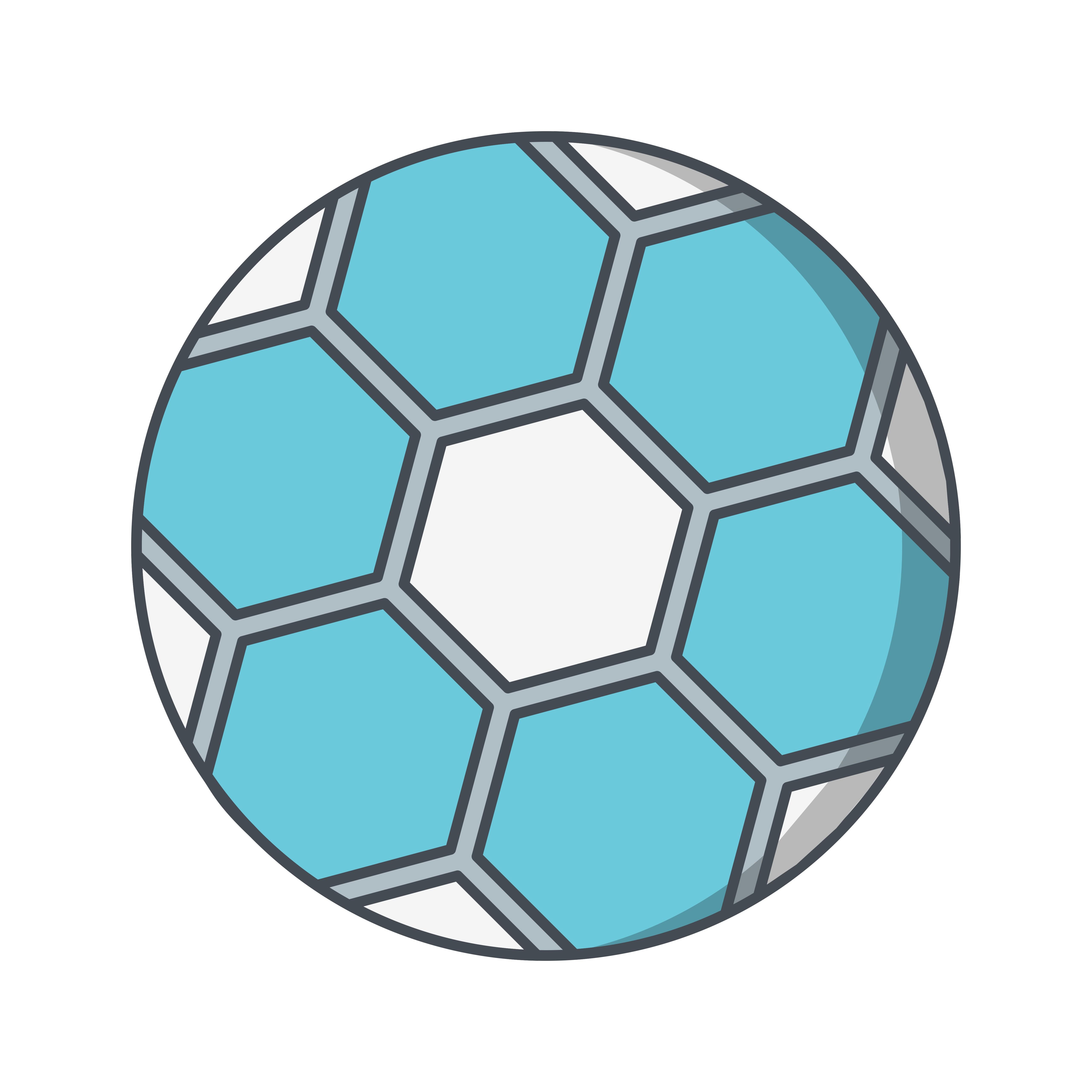 Football Icon Vector Illustration 422087 Vector Art at ...
