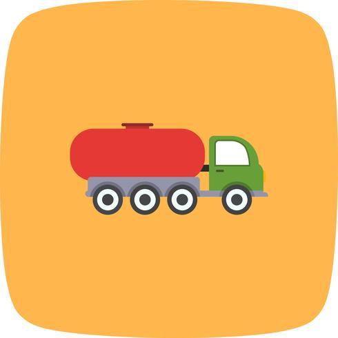 Vektor-Tankwagen-Symbol