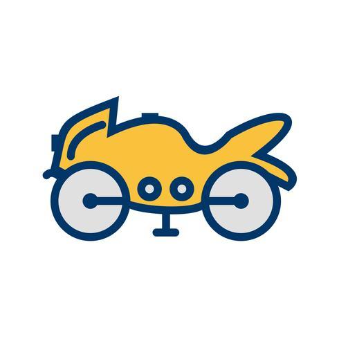 Vector zware fiets pictogram