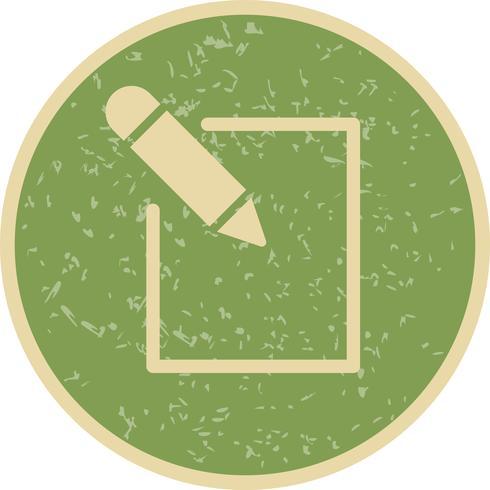 Bewerk pictogram vectorillustratie