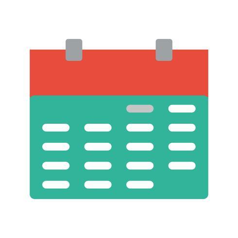 Vector icono de calendario