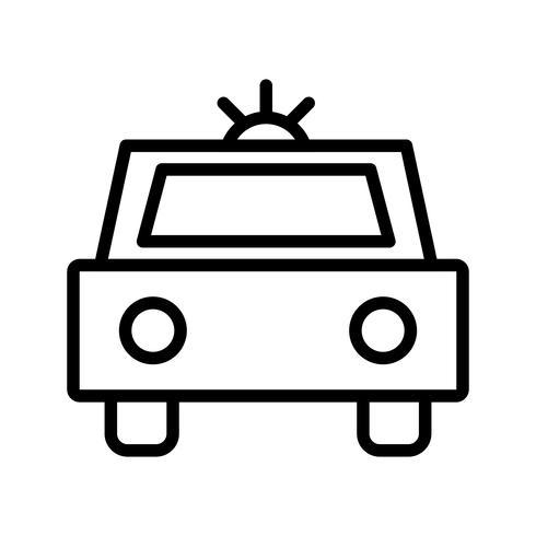 Icona della polizia vettoriale