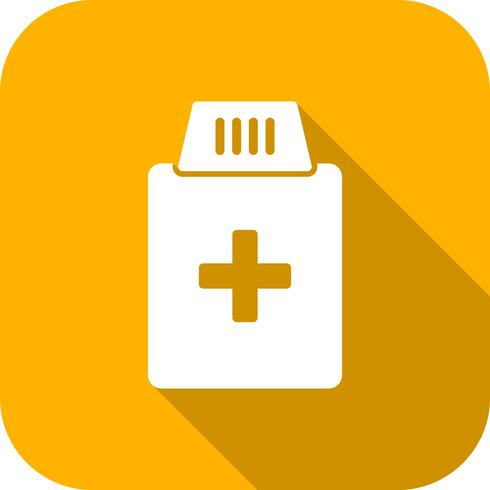 Vektor Medizin Flasche Symbol