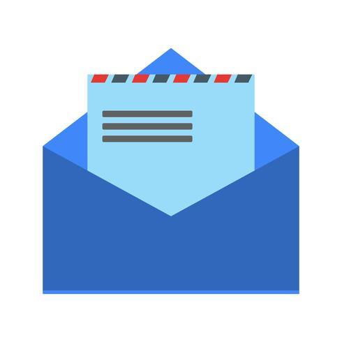 Enveloppe icône Vector Illustration