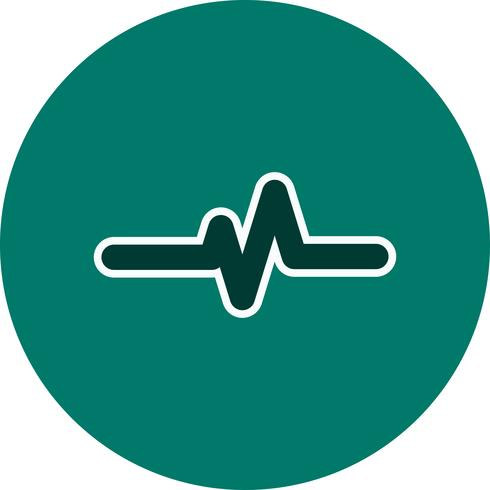 Vector Pulse Rate Icon