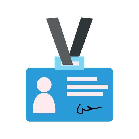 Vector Identity Card Icon