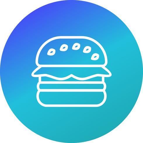 Icône de hamburger de vecteur