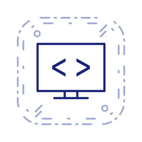 Icône d'optimisation de code vectoriel