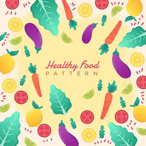Healthy Food Vector