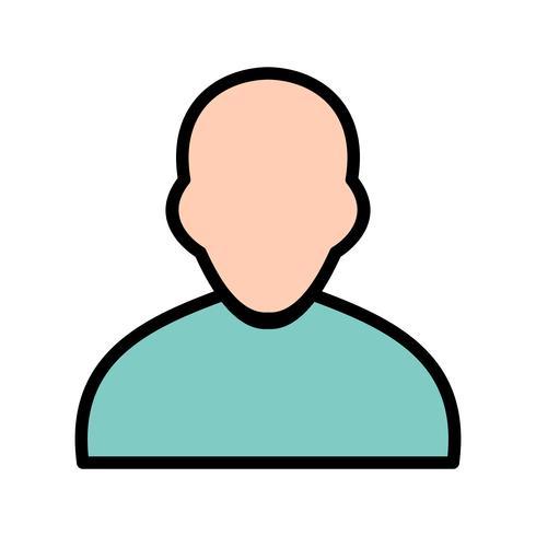 Icono de avatar ilustración vectorial vector
