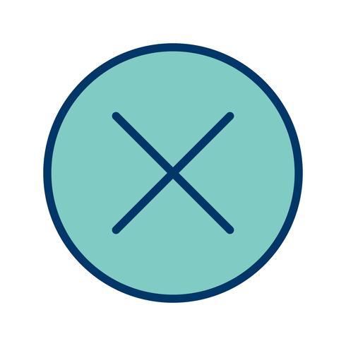 Cancel Icon Vector Illustration