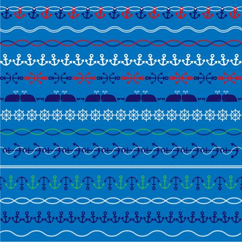 nautical border patterns