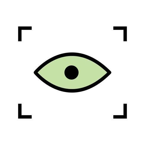 Icona di scansione vettoriale