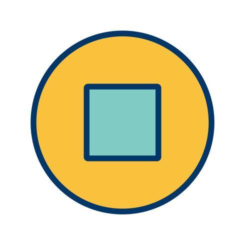 Fermi l'illustrazione di vettore dell'icona