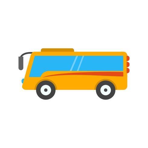 icono de bus vectorial