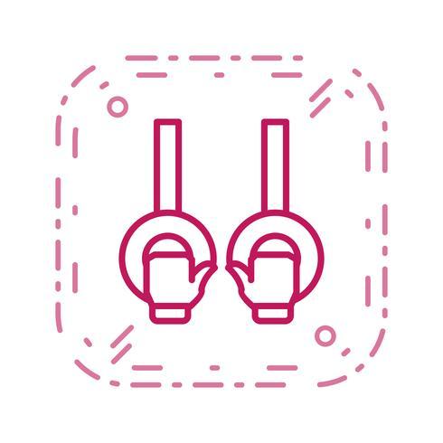 Gymnastics Icon Vector Illustration
