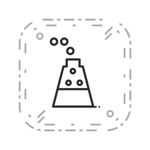Vector experiment pictogram