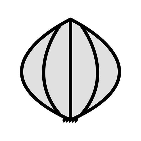 Vektor-Knoblauch-Symbol