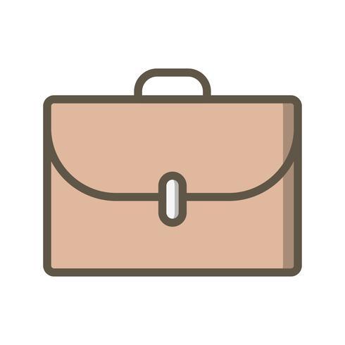 Ícone de maleta de vetor