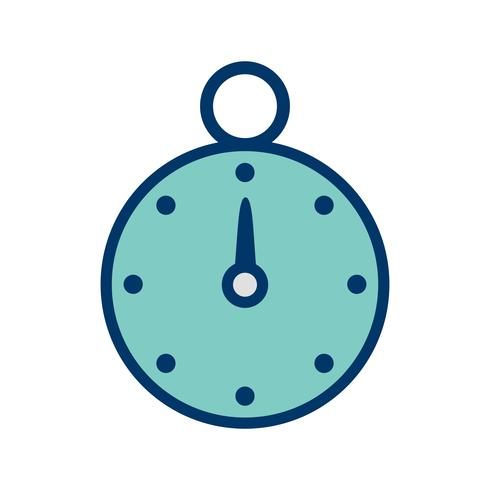 Ícone de cronômetro de vetor