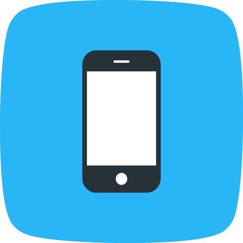 Ilustração em vetor ícone celular telefone