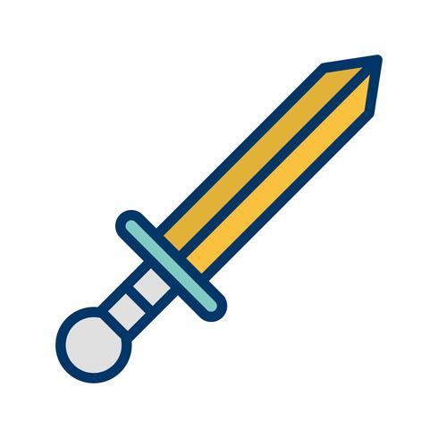 Icono de armas ilustración vectorial vector