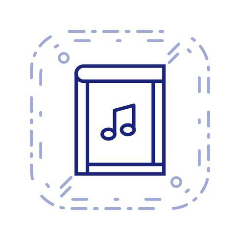Icono de libro ilustración vectorial vector