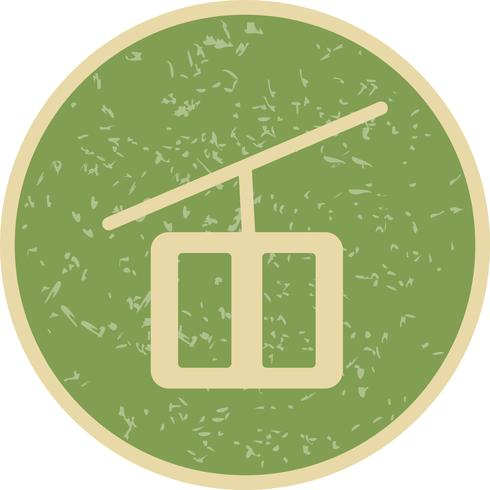 Vector Chair Lift Icon