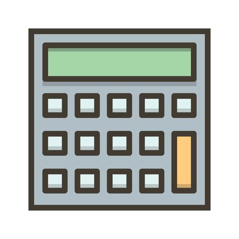 Vektorberäkningsikon vektor