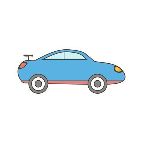 Vektor-Sportwagen-Symbol