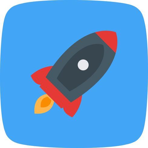 Vector raket pictogram