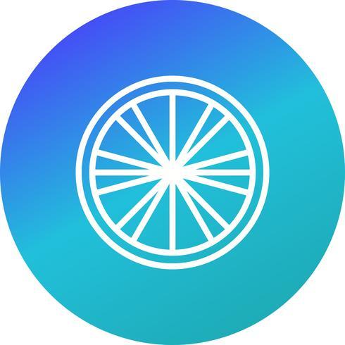 Vektor citron ikon