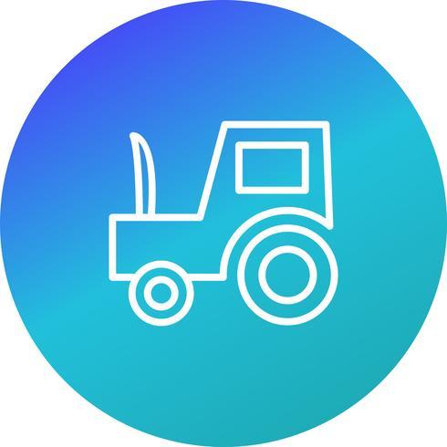 Vektor-Traktor-Symbol
