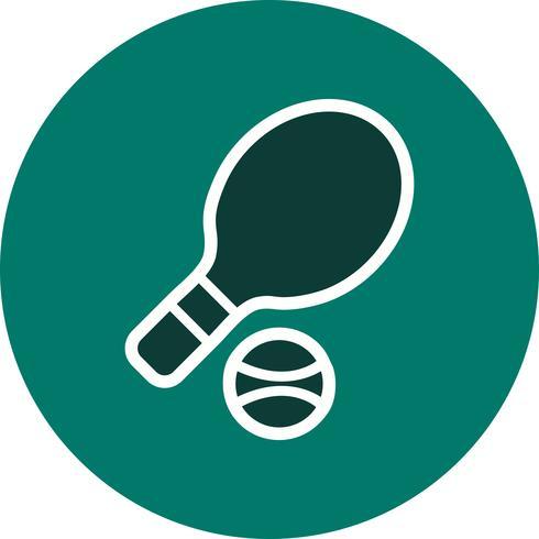 Icono de tenis Vector Illustration