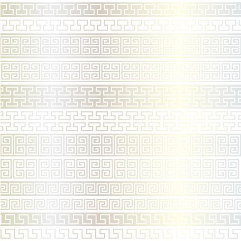 motifs de bordure en résille d'argent métallisé vecteur