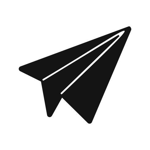 Paper Plane Icon Vector Illustration Download Free Vectors